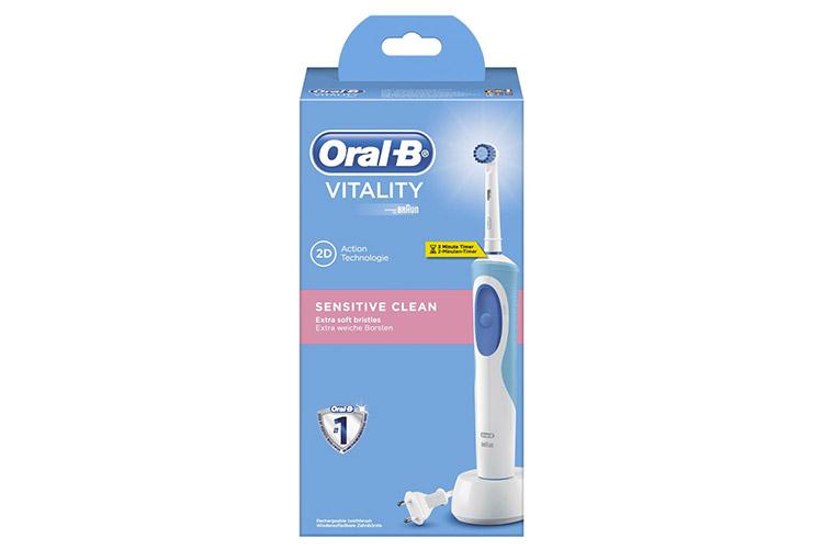 oral b vitality sensitive clean test complet. Black Bedroom Furniture Sets. Home Design Ideas